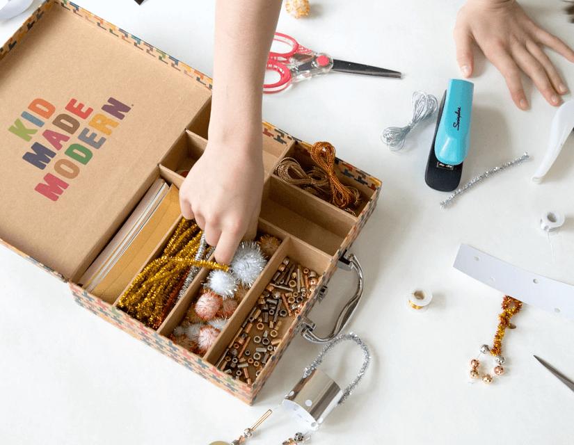 Kits d'artisanat pour enfants par Kid Made Modern