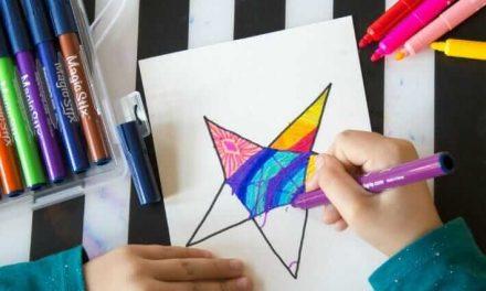 Tangle Stars Imprimable & The Magic of Magic Stix