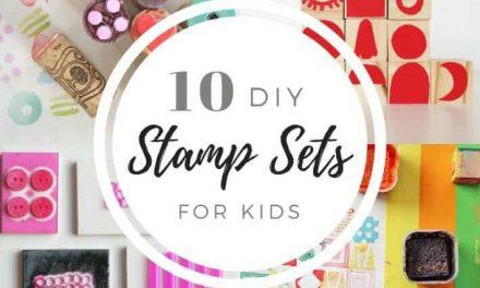 10+ façons de créer vos propres sets de timbres