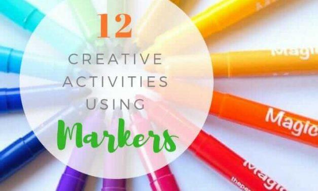 12 idées créatives de marqueurs artistiques pour les enfants