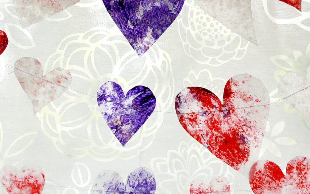 Comment fabriquer des cordons de Coeurs Suncatcher avec des Coeurs de Crayon Fondus