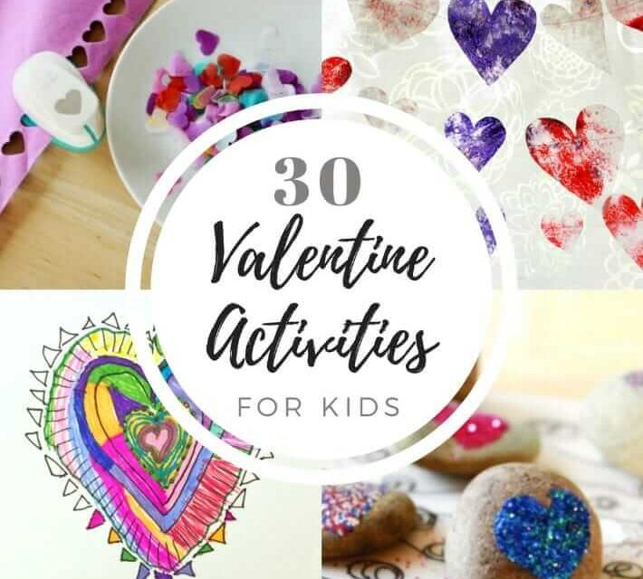 30 Valentine Crafts and Activities for Kids (avec liste imprimable !)