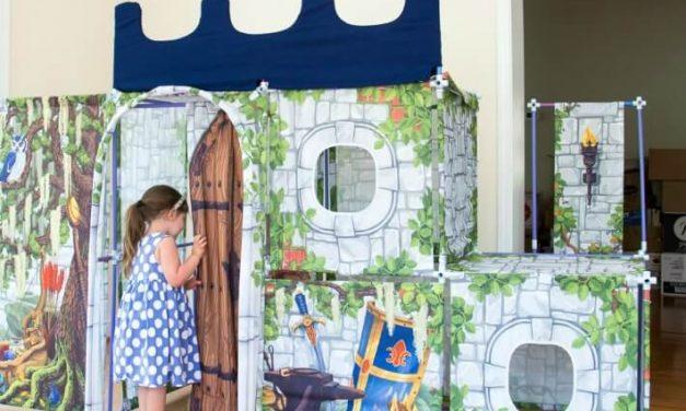 NOUVELLES Couvertures en tissu pour un château Fort Magic (Giveaway & Review)