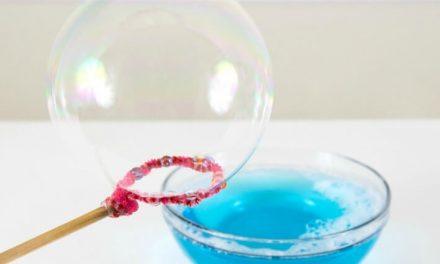 Comment faire des bulles maison