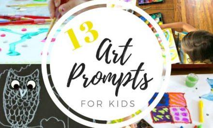 13 Suggestions artistiques pour les enfants afin de favoriser la créativité