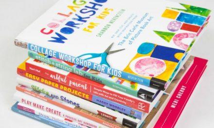 9 super nouveaux cahiers d'activités artistiques pour les enfants